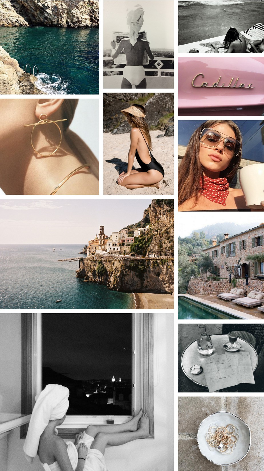 Fashion Travel Collage Inspiration