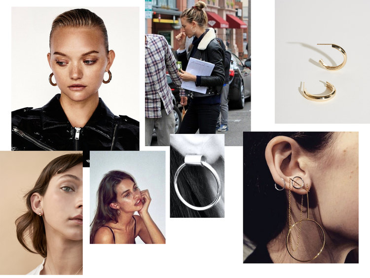 Hoop earrings trend 2016