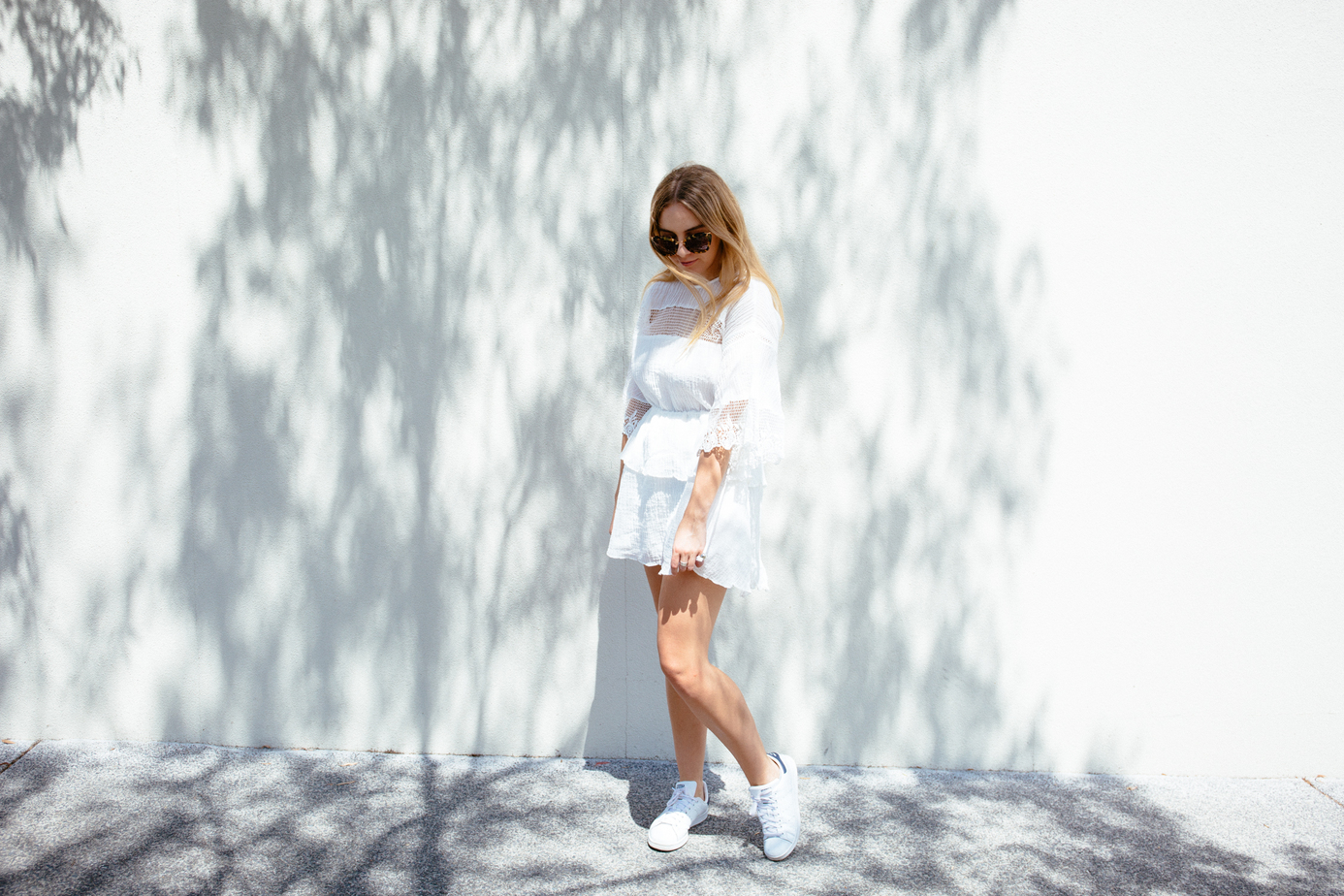 Stevie May Lunar Dresss, Stan Smith Sneakers | Stolen Inspiration NZ Blogger_1