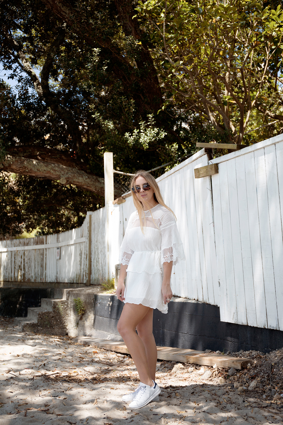 Stevie May Lunar Dresss, Stan Smith Sneakers | Stolen Inspiration NZ Blogger_2